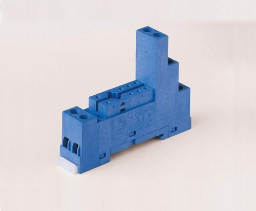 Finder 95.75SMA DIN-Rail screw terminal (Box Clamp) Socket