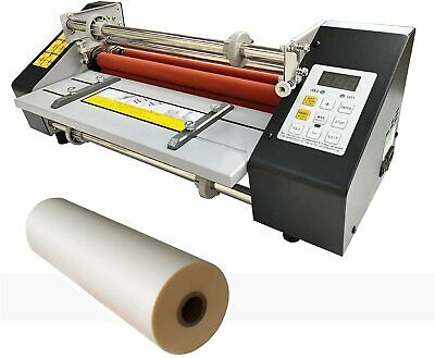 A3 High Speed Hot Cold Roll Laminator Doubel Sides Laminating Machine Office