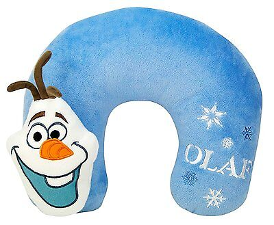 Frozen Olaf 3D Velboa Travel Neck Pillow