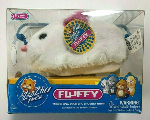 Zhu Zhu Pets Collectibles Fluffy The Bunny By Cepia LLC New
