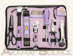 18pc ladies home tool set for women diy tools perfect gift for Ladies gardening tools gift set