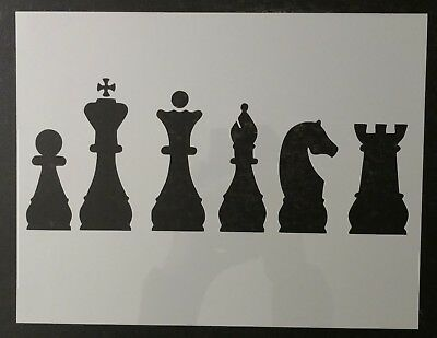Rook Chess (Chess Piece Pieces Knight Rook Queen King 11