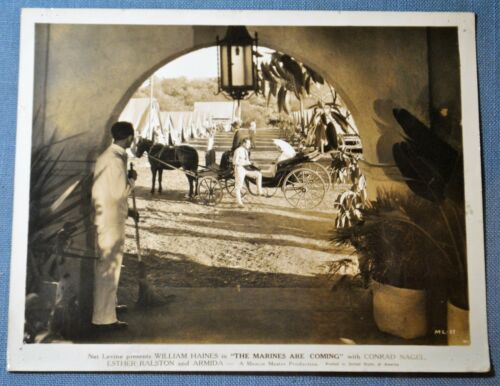 """Movie Still Photo of """"The Marines Are Coming"""" 1934 Film"""
