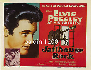 ELVIS-PRESLEY-JAILHOUSE-ROCK-HIGH-QUALITY-VINTAGE-MOVIE-MUSIC-POSTER