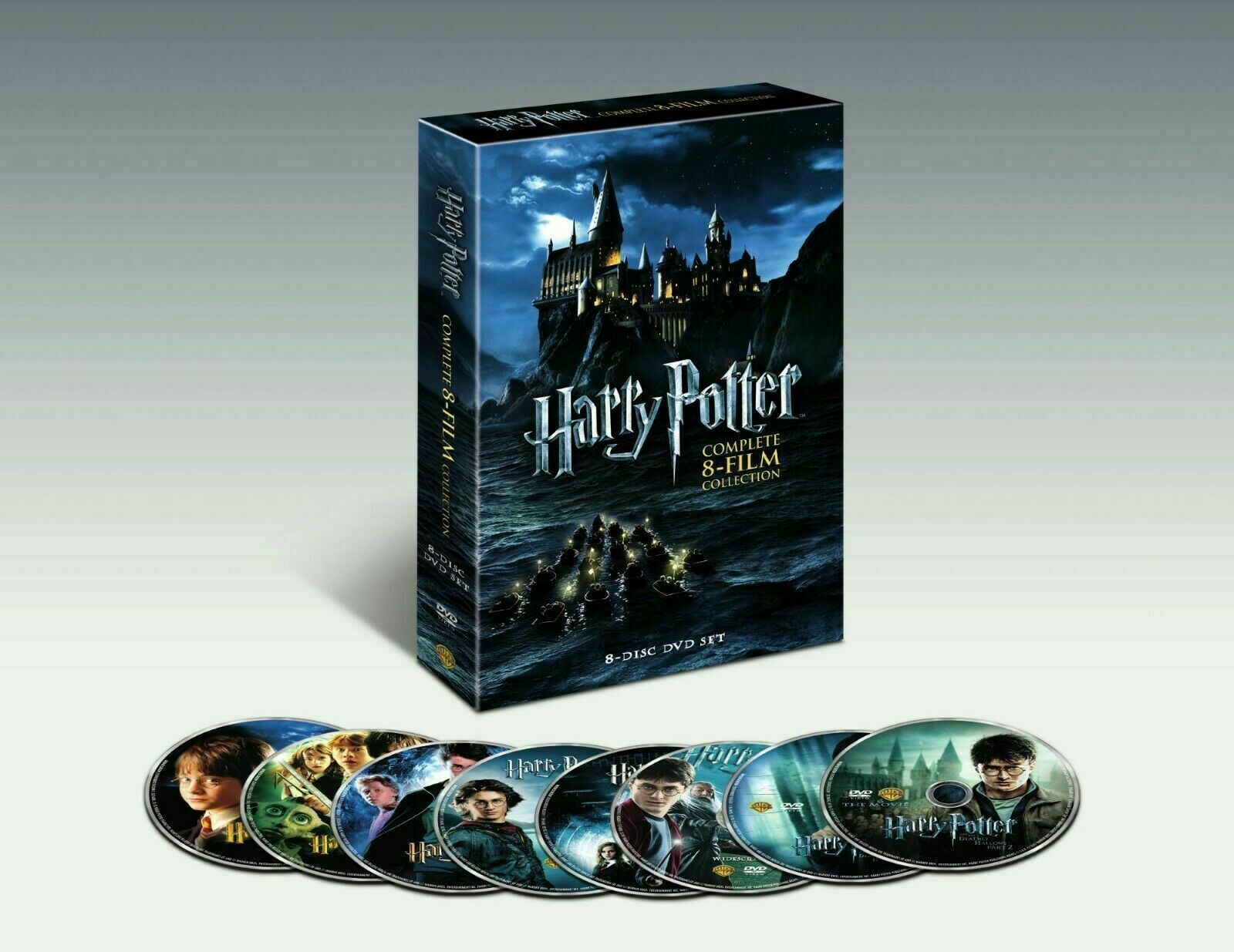 NEW Harry Potter Complete 8-Film Collection DVD Set, Ships in 1 Business Day