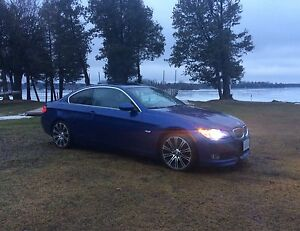 2007 BMW 328i Coupe Midnight Blue M3 Rims - Navi - M package