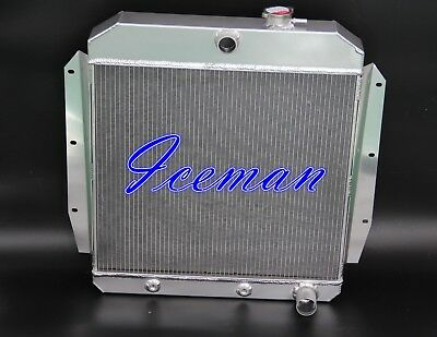 3 ROWS ALL ALUMINUM RADIATOR 1955 1956 57 58 1959 Chevychevrolet truck Pickup