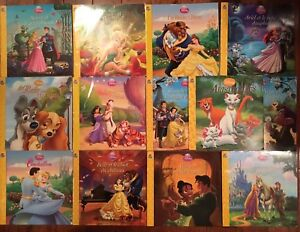 Collection de livres Disney
