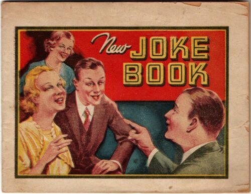 "1930s Booklet-""New Joke Book""-Alka-Seltzer-Dr Miles Nervine-Laxative-AsperMint"