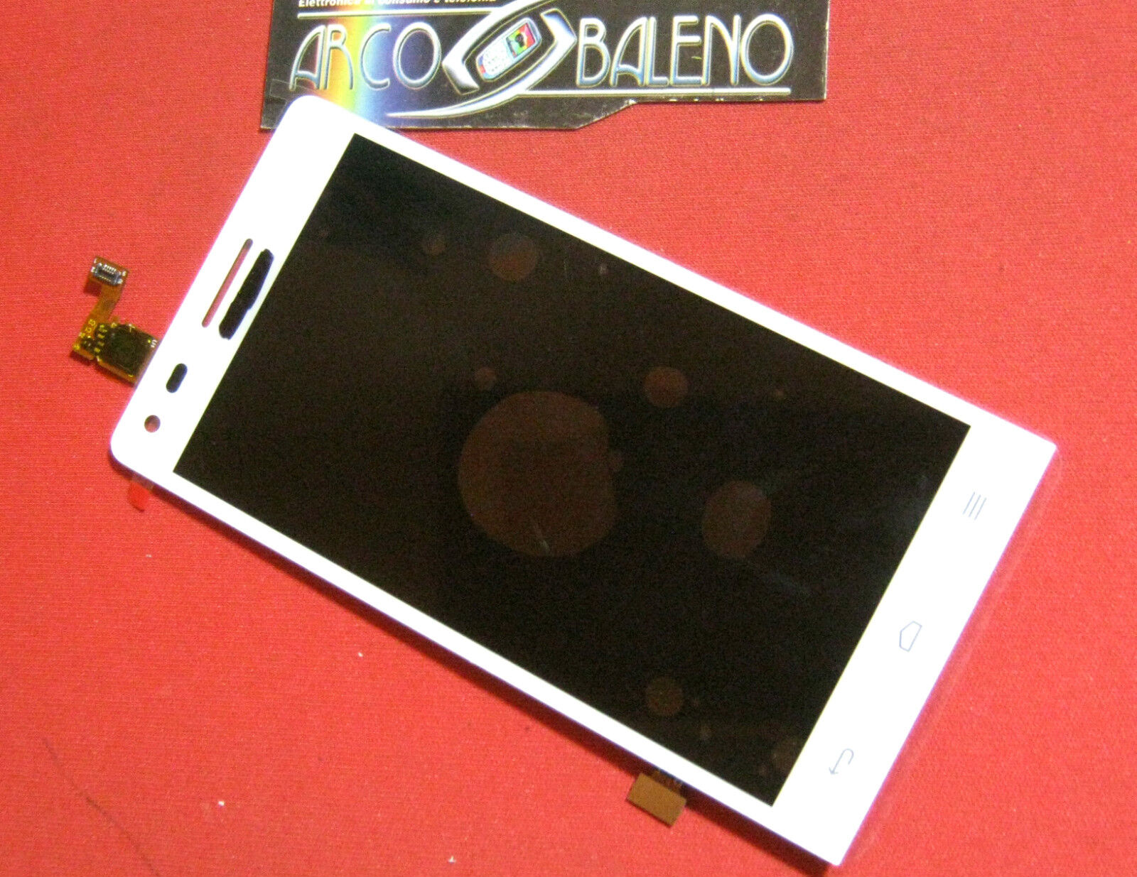 P1 DISPLAY LCD+TOUCH SCREEN per HUAWEI ASCEND G6 BIANCO VETRO RICAMBIO NUOVO