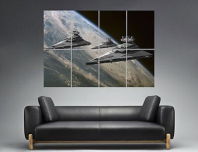 Star Wars Darth Vader Schiff (STAR WARS Schiff DESTROEYR darth vader Wall Plakat groß format A0 Druck)