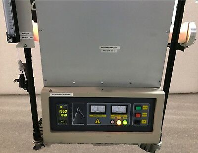 Sentro STT1600-3-6 High Temperature Vacuum Tube Furnace Refurbished / 4 Mo. Wrty for sale  Palisades Park