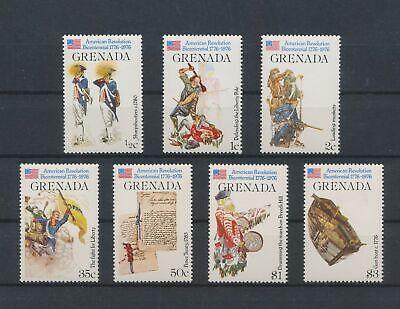 LL82000 Grenada 1976 american revolution fine lot MNH