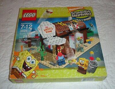 RARE Lego 3825 Spongebob Squarepants Krusty Krab - Sealed Set