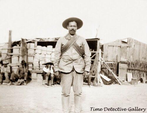 "Mexican General Francisco ""Pancho"" Villa - 1911 - Historic Photo Print"