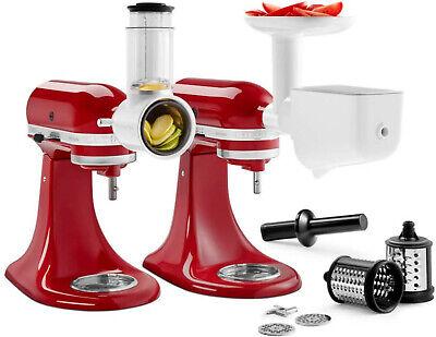 KitchenAid 5KSM2FPPC Stand Mixer Attachments Set - Red