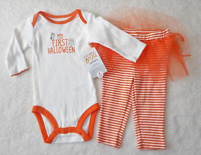 HALLOWEEN 💜 Baby Mädchen Kleid 💜 Anzug Set 2tlg 💜 MEIN 1. HALLOWEEN 💜 + Rock