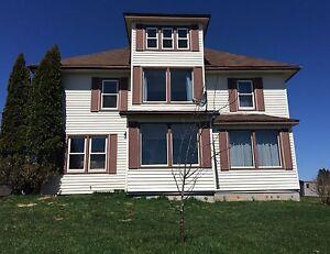 Large farm house & 2 acres, cheaper then rent !