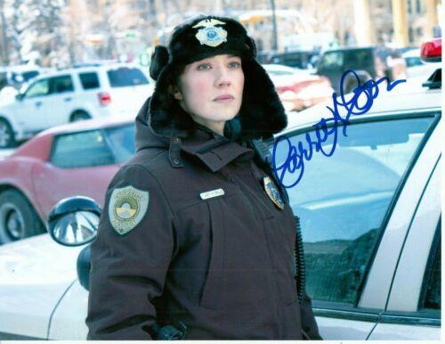 CARRIE COON signed (FARGO) TV Show 8X10 photo *Gloria Burgle* photo W/COA
