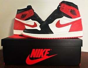 Jordan 1 Track Red from Best Hand Collection DS size 13