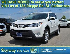 2014 Toyota RAV4 LIMITED  NAVI | SUNROOF | LEATHER | REAR CAMERA