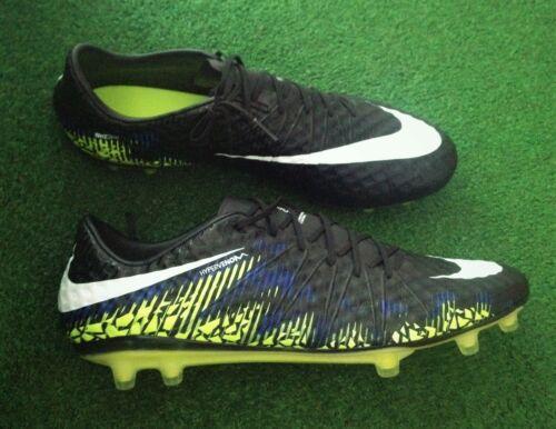 Nike HyperVenom ACC Futbol Soccer Cleats - Black / Neon Green Sz. 11.5