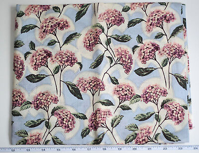 Used, RJR Fashion Quilt Fabric Art Nouveau Hydrangea Purple Blue Violet Floral 1 yard for sale  Shipping to India