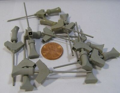 TWELVE TEKTRONIX TEST CLIPS FOR PROBES A-92