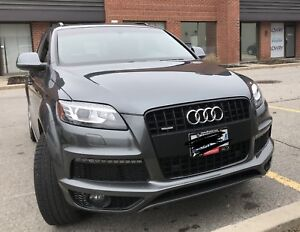 Immaculate 2014 S-Line Diesel Q7 Quattro - Fully Loaded!