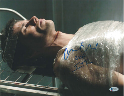CHRISTIAN CAMARGO SIGNED 11X14 PHOTO DEXTER BECKETT BAS AUTOGRAPH AUTO B