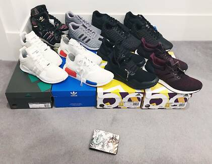 US8 8.5 Adidas zx flux xeno ultra boost collab nmd r1 og adv 3m