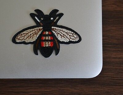 Bee Craft - Gucci Style Bee Iron On Applique/Embroidered Patch Fabric Craft Sew Lot