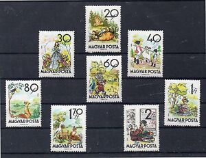 Hungria-Cuentos-Infantiles-Serie-del-ano-1960-DH-383