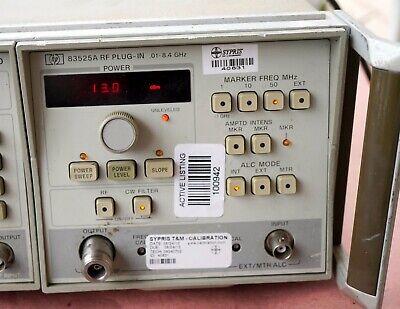Hpagilentkeysight 83525a -002 2412a00537 Rf Sweep Generator Plug-in