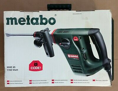 Nos Metabo 1150 Watt Electronic Chipping Hammer Mhe65