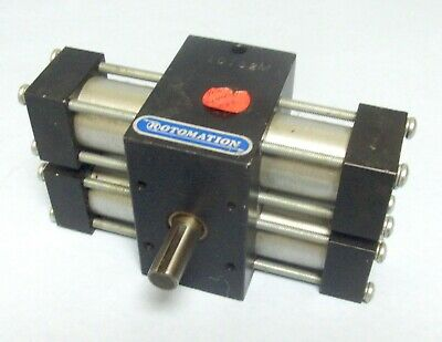 Rotomation X22 Indexing Pneumatic Rotary Actuator 59 In Lb 12 Shaft 60 Psi