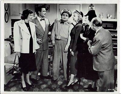 Sid Melton Iris Adrian Actors Stop that cab Vintage 1951 Photograph 10 x 8