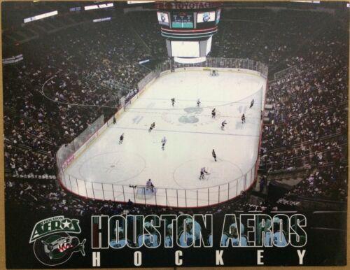 "Houston Aeros Team And Player Photos Card Stock 8.5"" X 11"""