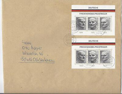 Bund Block 11 MeF - Brief Freiburg - Ochsenhausen 2002