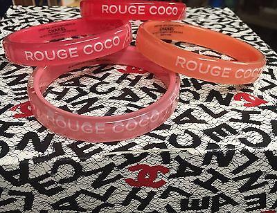 Color Coco Bracelets (ROUGE COCO SHINE CHANEL BRACELET (CHOICE OF COLOR)