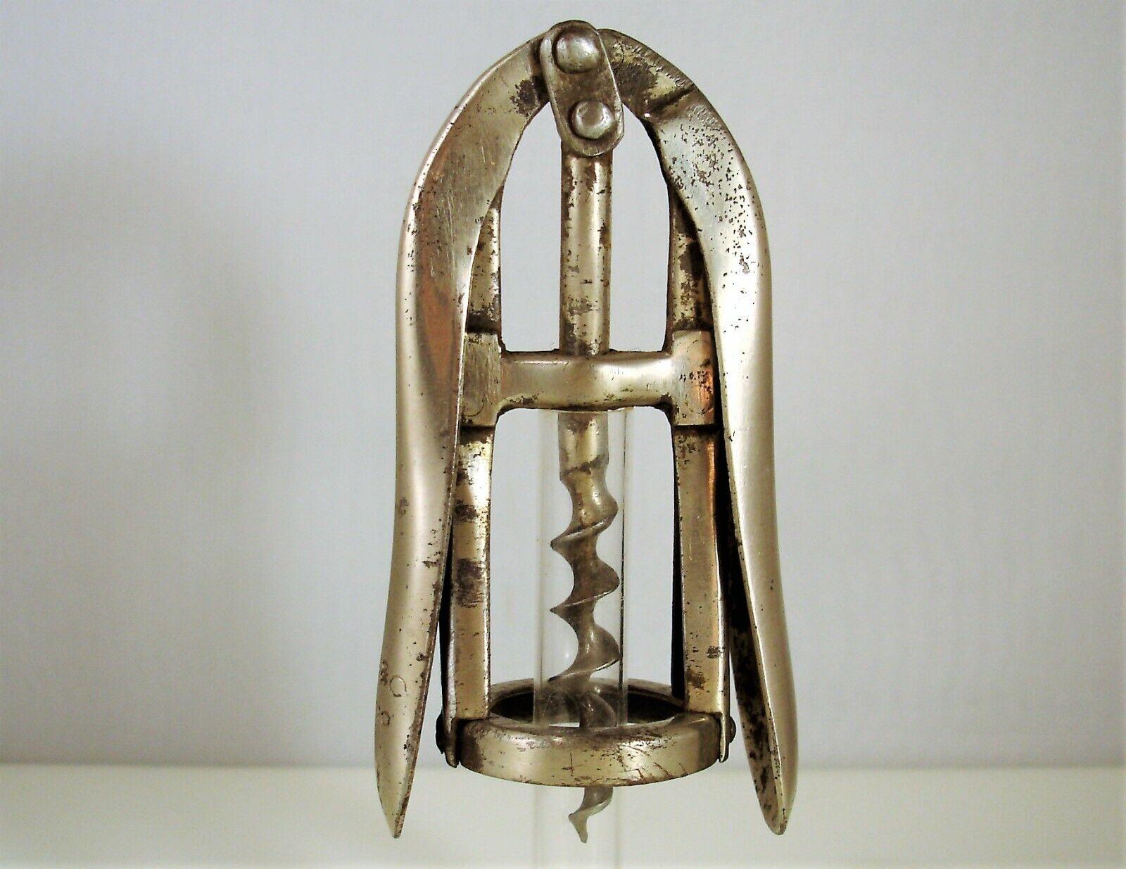 Cavatappi Corkscrew Tire Bouchon Vogliotti Torino firmato Buc & C, primi '900