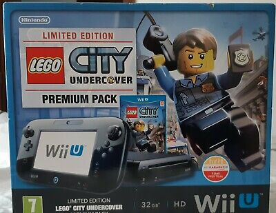 CONSOLE NINTENDO WII U- LIMITED EDITION- LEGO CITY UNDERCOVER- PREMIUM PACK-...