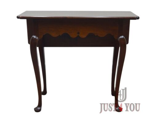 Stickley Colonial Williamsburg Drop Side Mahogany Table
