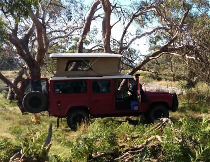 1987 Land Rover One Ten Pop Top Blairgowrie Mornington Peninsula Preview
