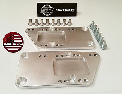 SR Billet Engine Swap Bracket SBC LS Conversion Motor Mount Adjustable Plate LS1