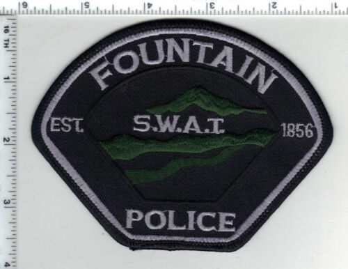 Fountain Police (Colorado) S.W.A.T. Shoulder Patch - new