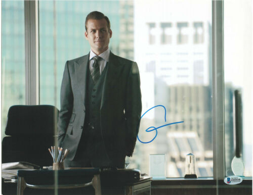 GABRIEL MACHT SIGNED 11X14 PHOTO SUITS BECKETT BAS AUTOGRAPH AUTO A