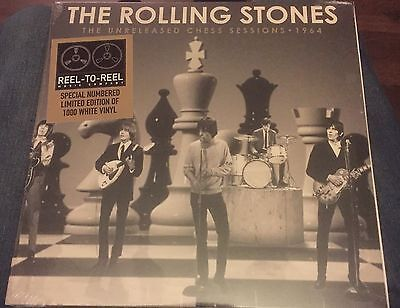 """Rolling Stones - Unreleased Chess Sessions -   10"""" White Vinyl -  Brand New RARE"""