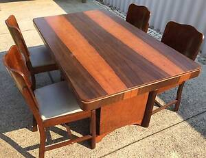 Art Deco Dining Setting 5 piece. Kewdale Belmont Area Preview