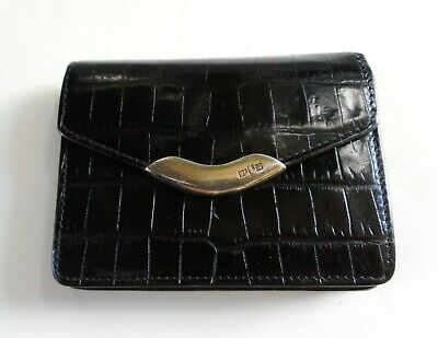 Ralph Lauren RL67 Genuine Alligator Wallet with Sterling Silver Thumb Guard